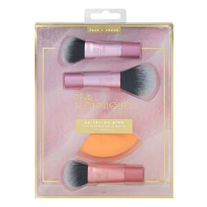 Real Techniques Mini Pinsel Set On-the-go glow