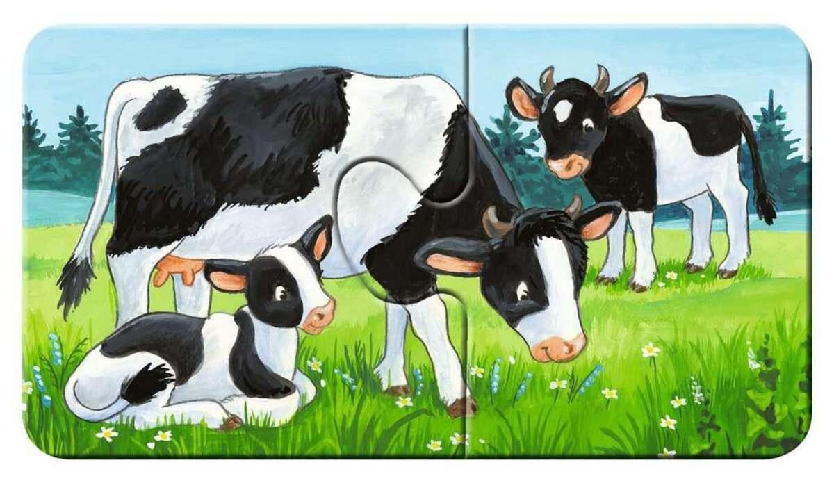 Bild 2 von Ravensburger Tierfamilien auf dem Bauernhof Kinderpuzzle