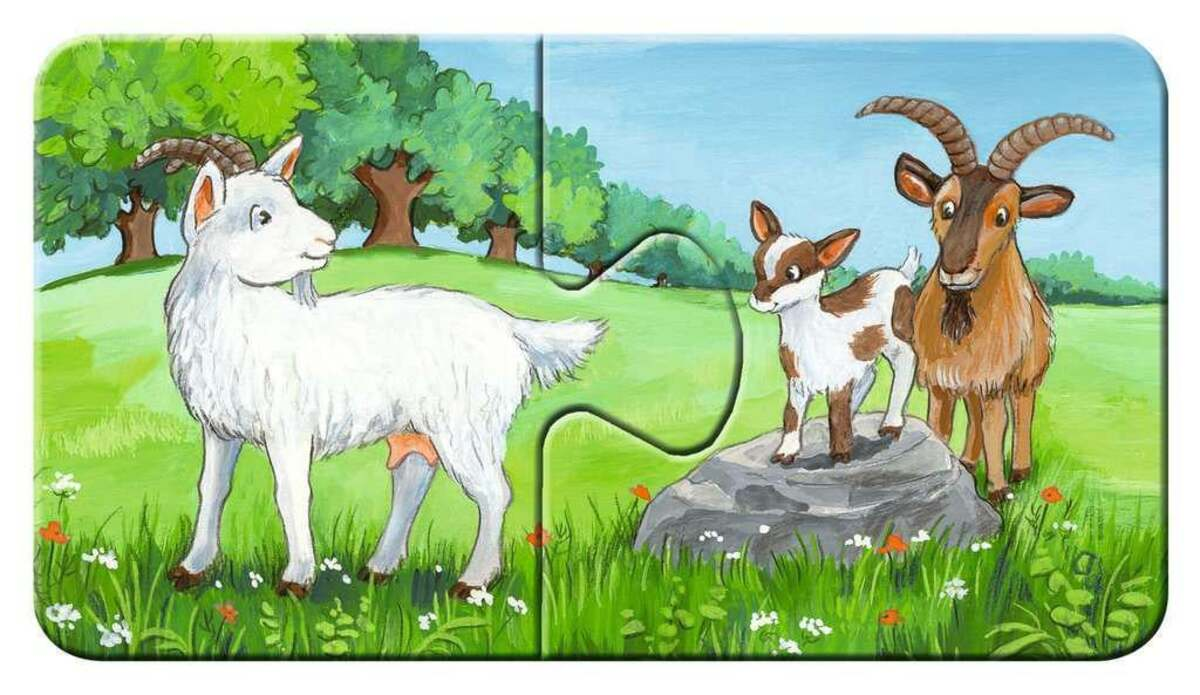 Bild 4 von Ravensburger Tierfamilien auf dem Bauernhof Kinderpuzzle