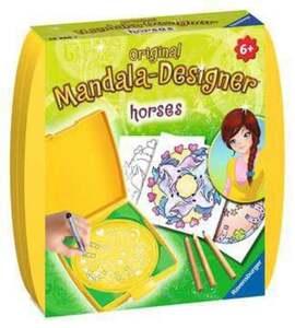Mini Mandala-Designer Horses