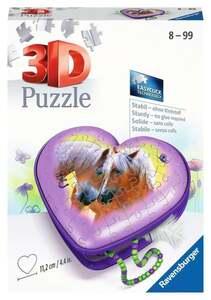 Ravensburger 3D Puzzle Herzschatulle Pferde