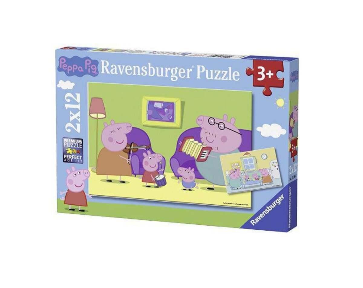 Bild 1 von Ravensburger Peppa Pig Zuhause Puzzle
