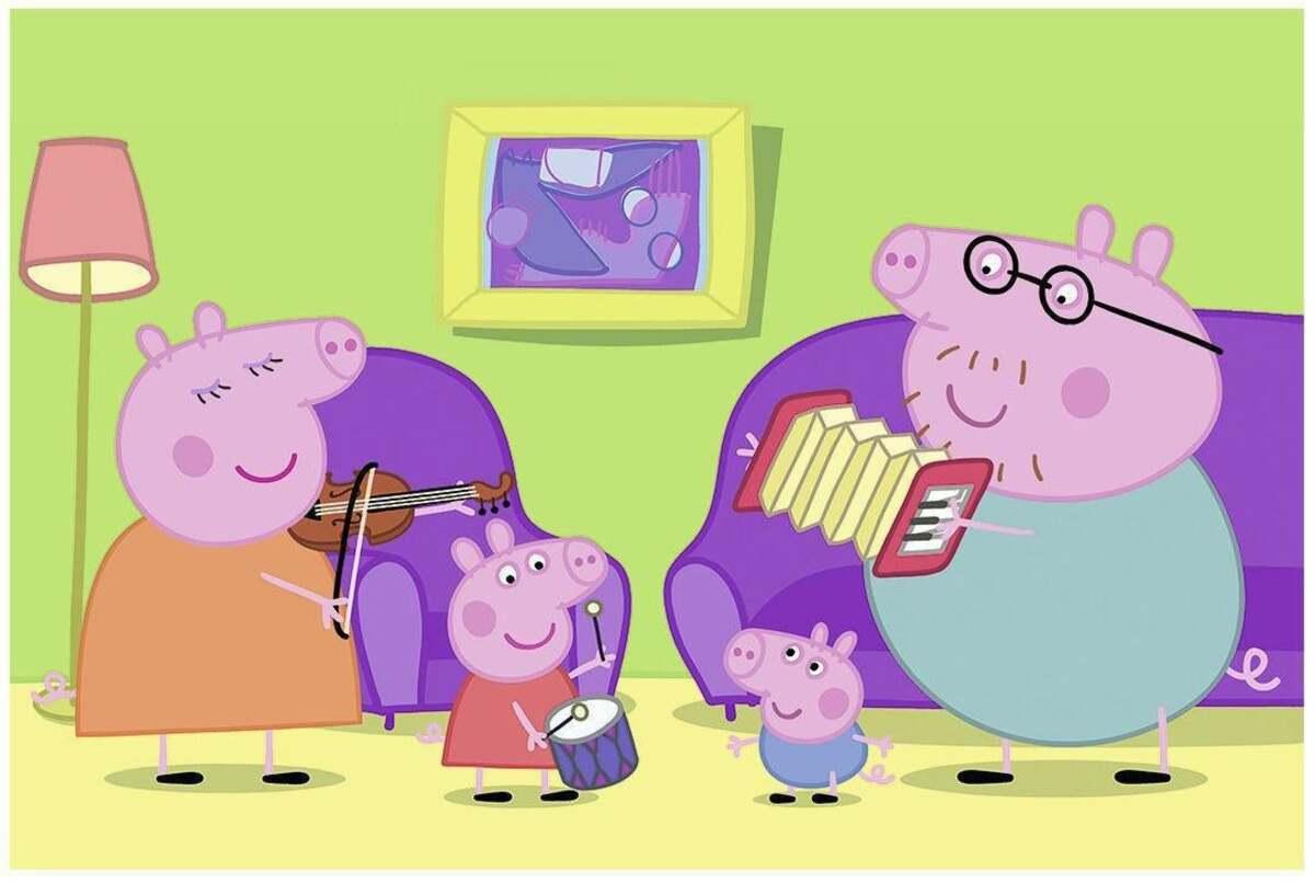 Bild 2 von Ravensburger Peppa Pig Zuhause Puzzle
