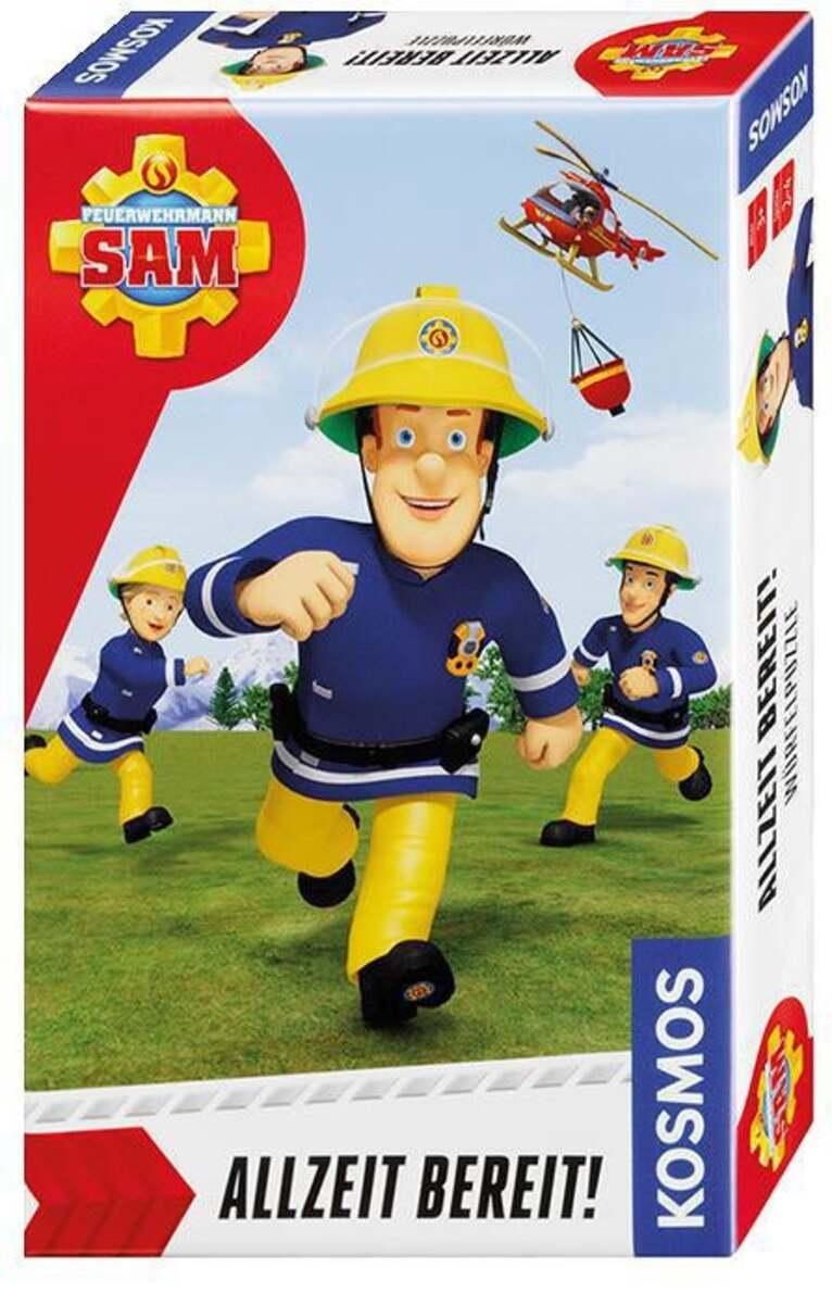 Bild 1 von Kosmos Feuerwehrmann Sam - Allzeit bereit! Würfelpuzzle