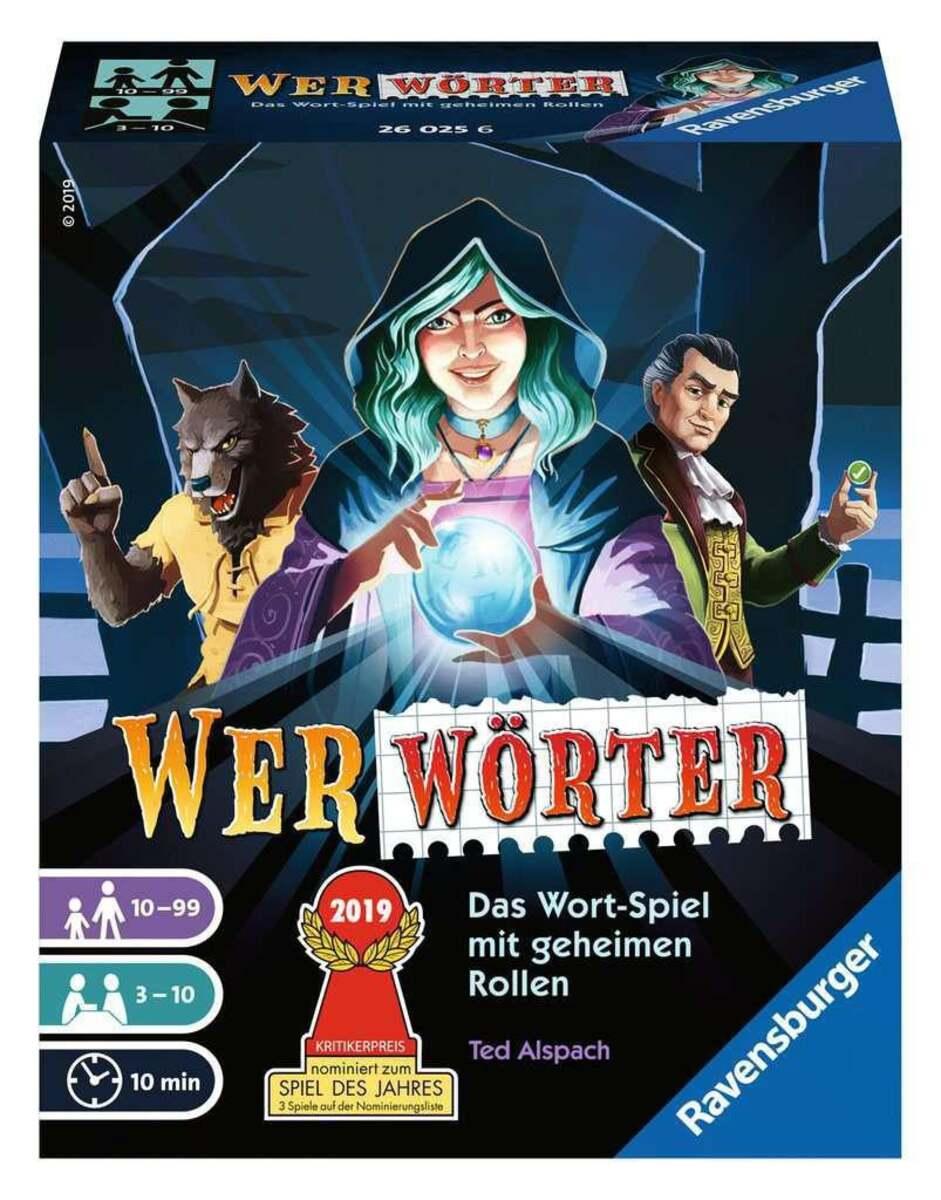 Bild 1 von Ravensburger Werwörter Wortratespiel