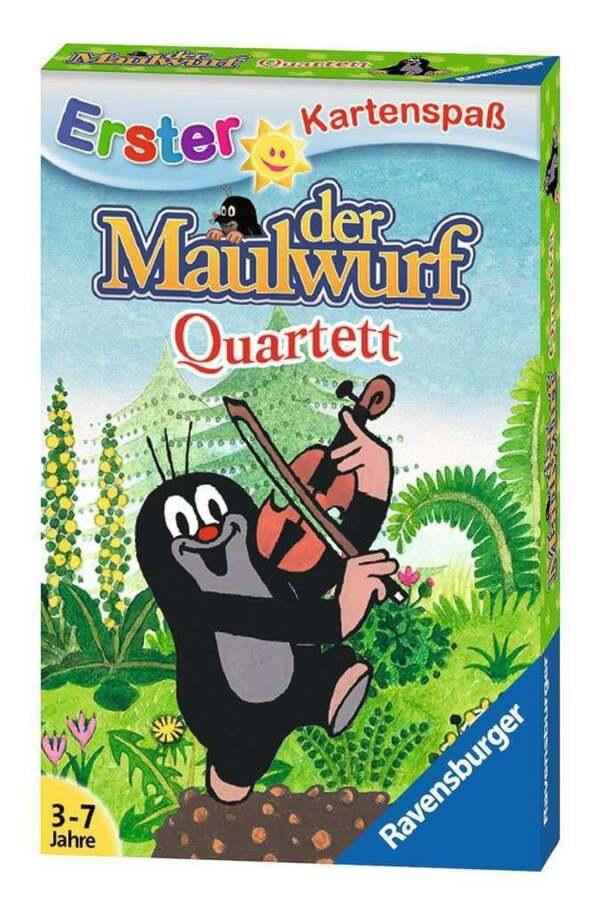 Ravensburger Der Maulwurf-Quartett Kartenspiel