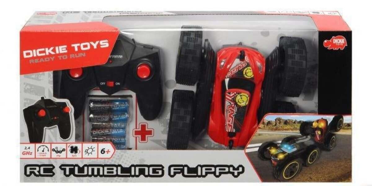 Bild 1 von Dickie Toys RC Tumbling Flippy Spielzeugauto mit Funkfernsteuerung