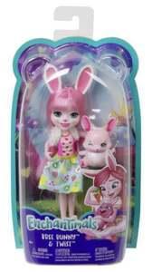 Mattel Enchantimals Bree Bunny & Twist Puppe