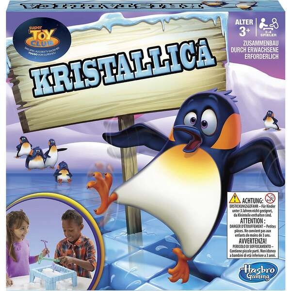 Hasbro Kristallica Spiel
