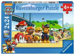 Ravensburger Paw Patrol - Heldenhafte Hunde 2x24 Teile Puzzles
