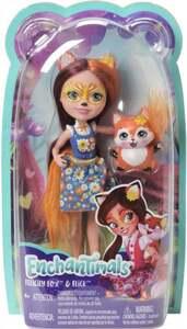 Mattel Enchantimals Felicity Fox & Flick Puppe