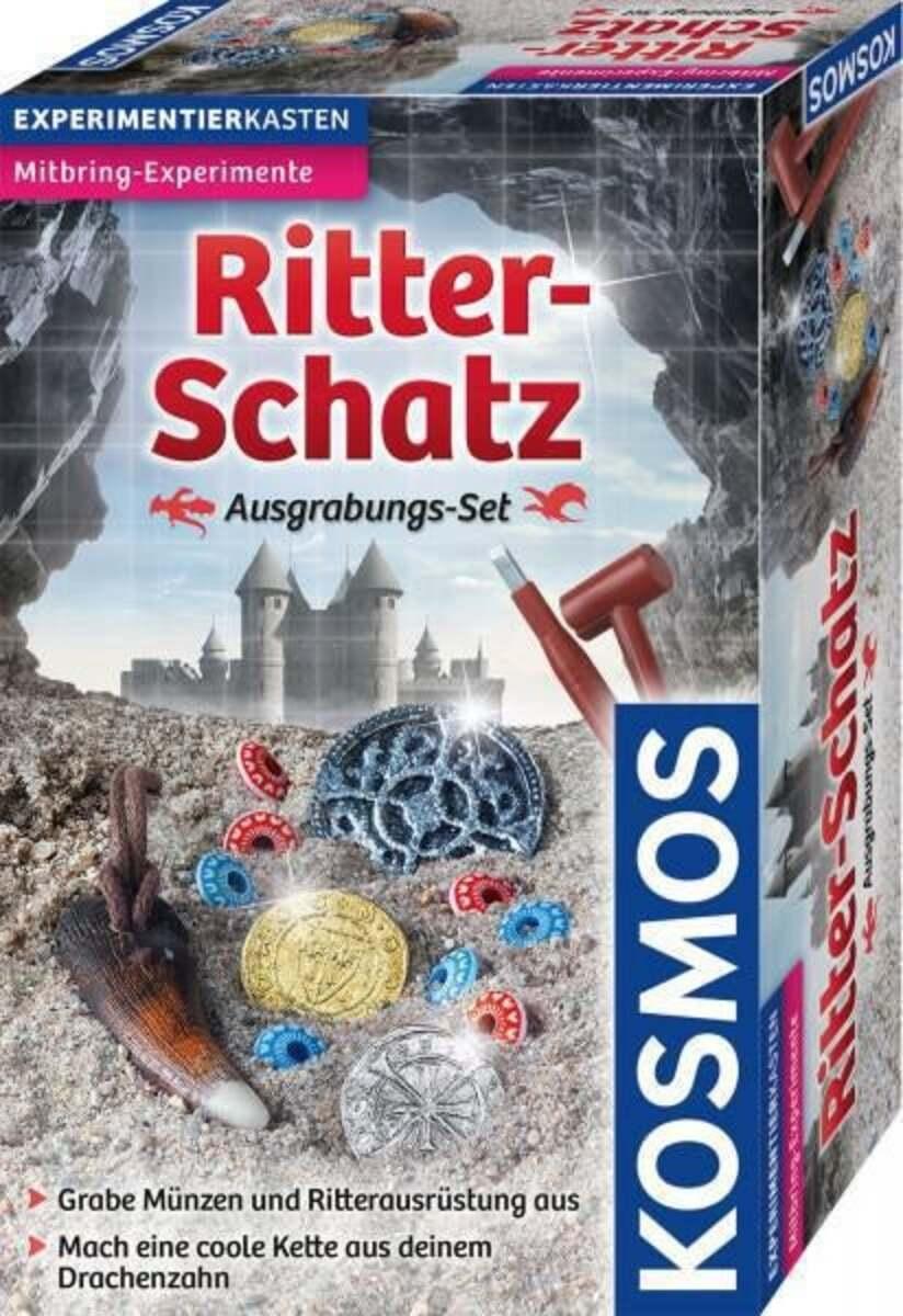 Bild 1 von Kosmos Ritter-Schatz Ausgrabungs-Set Experimentierkasten