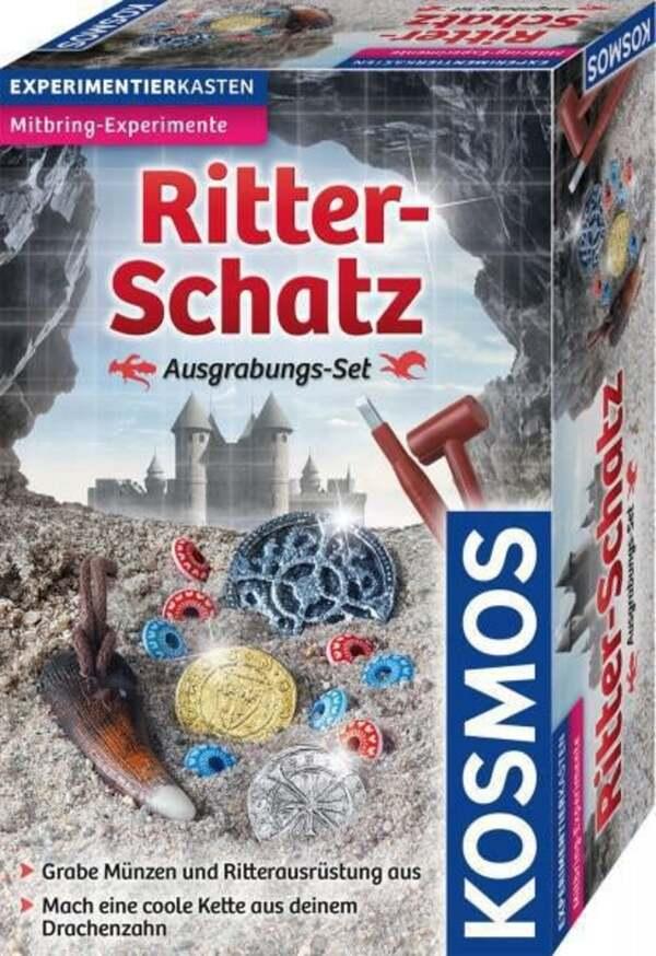 Kosmos Ritter-Schatz Ausgrabungs-Set Experimentierkasten