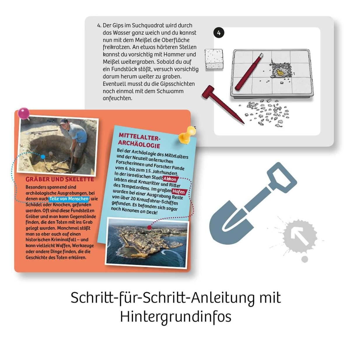 Bild 4 von Kosmos Ritter-Schatz Ausgrabungs-Set Experimentierkasten