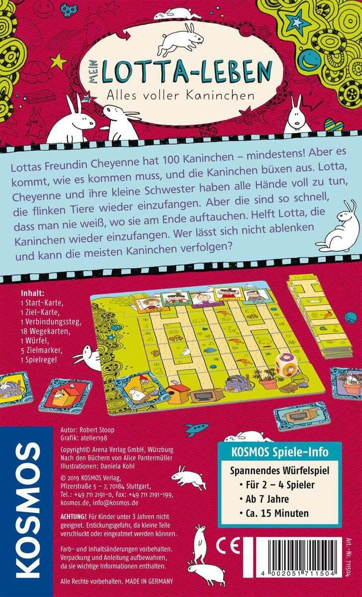 Bild 2 von Kosmos Mein Lotta Leben - Alles voller Kaninchen Reaktionsspiel