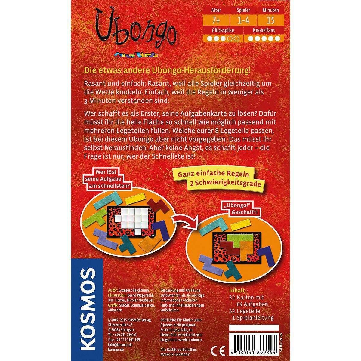 Bild 2 von Kosmos Ubongo Mitbringspiel
