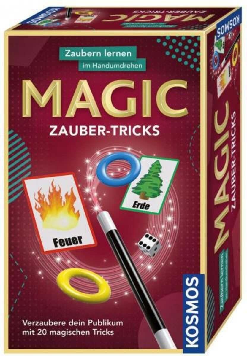 Bild 1 von Kosmos Magic Zauber-Tricks Experimentierkasten