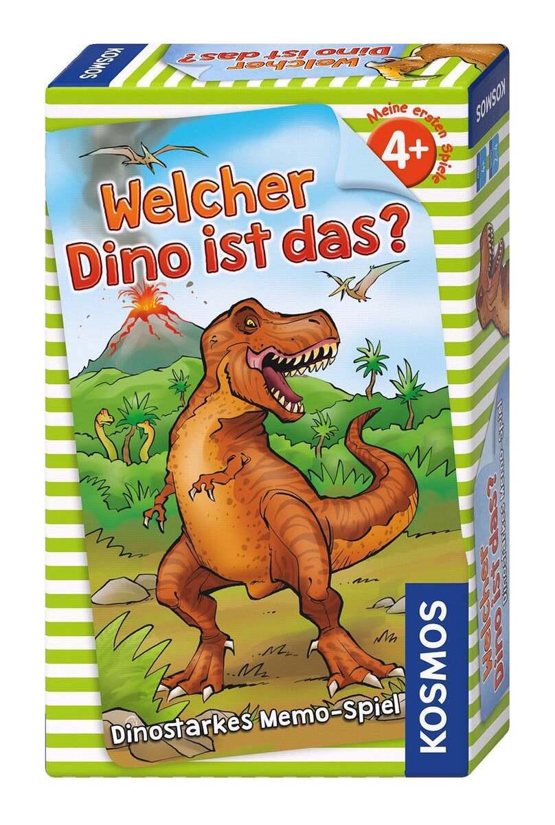 Bild 1 von Kosmos Welcher Dino ist das? Dinostarkes Memo-Spiel