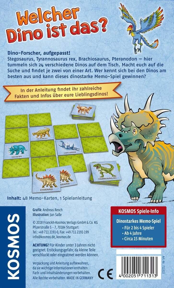 Bild 2 von Kosmos Welcher Dino ist das? Dinostarkes Memo-Spiel