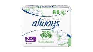 Always Ultra Cotton Protection Long (Größe 2) Binden mit Flügeln
