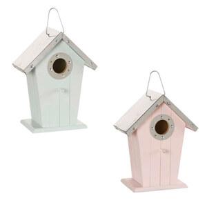 ProVida Vogelhaus 17 x 10 x 21,5 cm in verschiedenen Farben