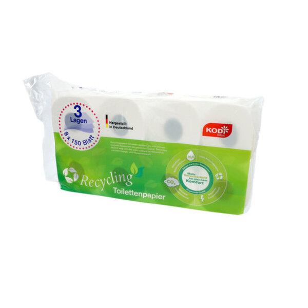 KODi basic Toilettenpapier 3-lagig