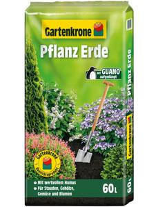 Pflanzenerde, 60 l, geeignet für: Stauden, Gehölze, Gemüse, Sommerblumen und andere Gartenpflanzen