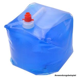 Wasserkanister faltbar 14 Liter aus Kunststoff