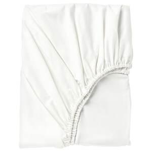 SÖMNTUTA                                Spannbettlaken, weiß, 180x200 cm