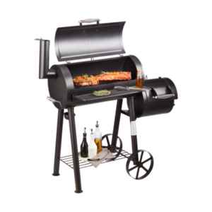 Smoker Grillchef 11407, mit Stahlrädern