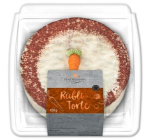 BEST MOMENTS Rübli-Torte