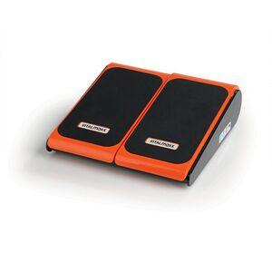 VITALmaxx Vibrationsgerät Training & Massage 24V schwarz/orange