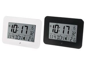 AURIOL® Funkwanduhr, digital,  mit Schlummerfunktion, automatische Zeitanpassung