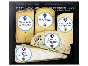 Französisches Käsebrett