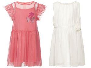 LUPILU® Kleinkinder Kleid Mädchen, Reißverschluss im Rücken, Futter aus reiner Baumwolle