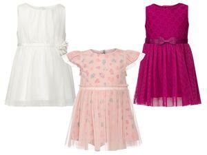 LUPILU® Kleinkinder Kleid Mädchen, Futter aus reiner Baumwolle