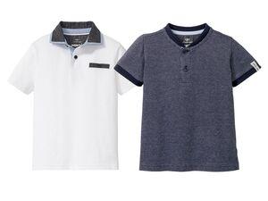 LUPILU® Kleinkinder Poloshirt Jungen, hochwertige Pikee-Qualität, aus reiner Baumwolle