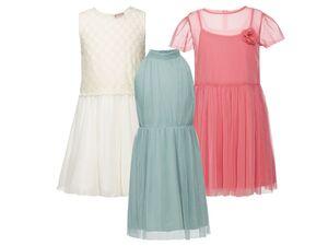 PEPPERTS® Kleid Mädchen, Futter aus reiner Baumwolle