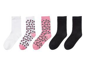 PEPPERTS® Socken Mädchen, 5 Paar, mit Baumwolle und Elasthan