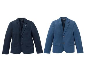 PEPPERTS® Sakko Jungen, klassischer Einreiher mit Rückenschlitz, mit Baumwolle
