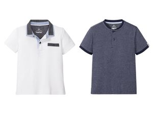 PEPPERTS® Poloshirt Jungen, hochwertige Pikee-Qualität, aus reiner Baumwolle