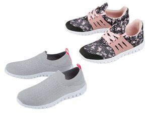 PEPPERTS® Sneaker Mädchen, mit Barfußtechnologie, aus atmungsaktivem Strick, mit Textil