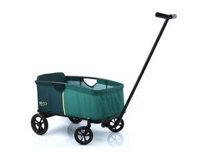 hauck Bollerwagen »Eco«, Light grün, zusammenklappbar, mit Sitzpolster