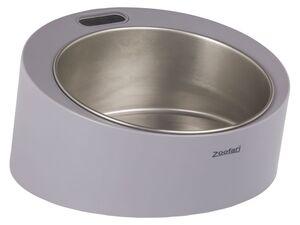 ZOOFARI® Futternapf, mit integrierter Waage, herausnehmbare Edelstahlschüssel