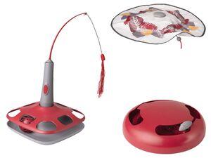 ZOOFARI® Katzenspielzeug, elektrisch und interaktiv, Unterseite mit Gumminoppen