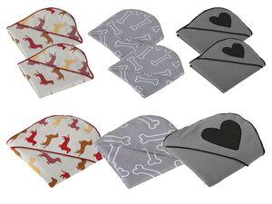 ZOOFARI® Haustier-Handtuch, mit Eingriff, schnelltrocknend, aus Mikrofaser