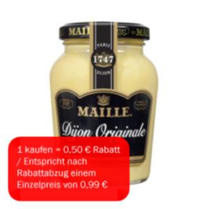 Maille Dijon-Senf Original, mittelscharf oder a l'Ancienne
