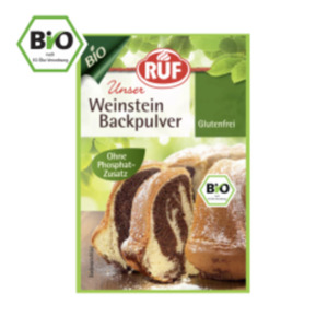 RUF Bio-Weinstein Backpulver