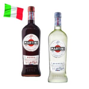 Martini Bianco, Rosso oder Prosecco
