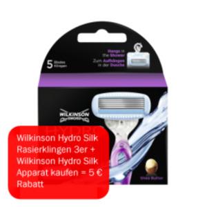 Wilkinson Hydro Silk Rasierklingen